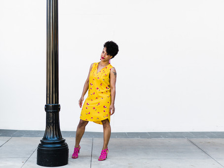 Style Alert: Yellow Floral Shift Dress