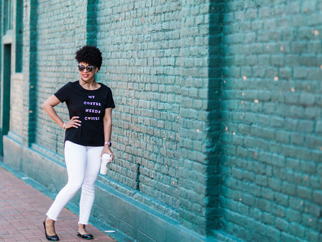 How to wear Graphic Tees in your 40's