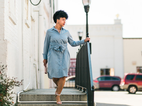 How to Wear a Belted Dress