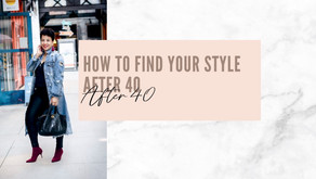 How to Find your Personal Style after 40
