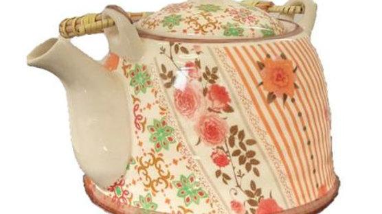 Bule em Cerâmica com Infusor para Chá
