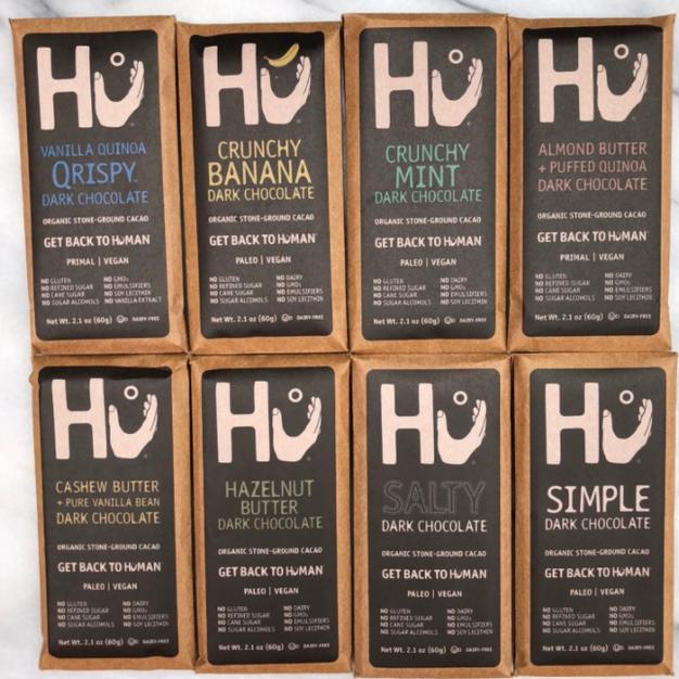 Hu Chocolates & Crackers