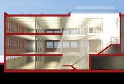 Building Section Concept Design