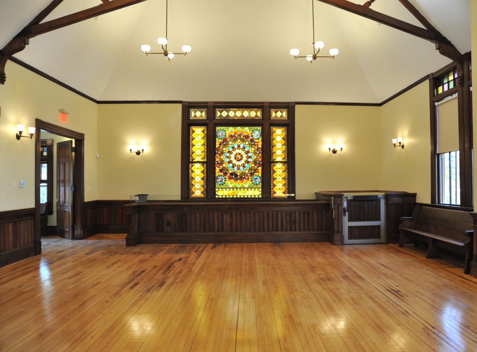 Main Hall after Restoration