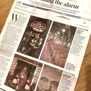 Two SSV Preservation Projects Highlighted in Boston Globe