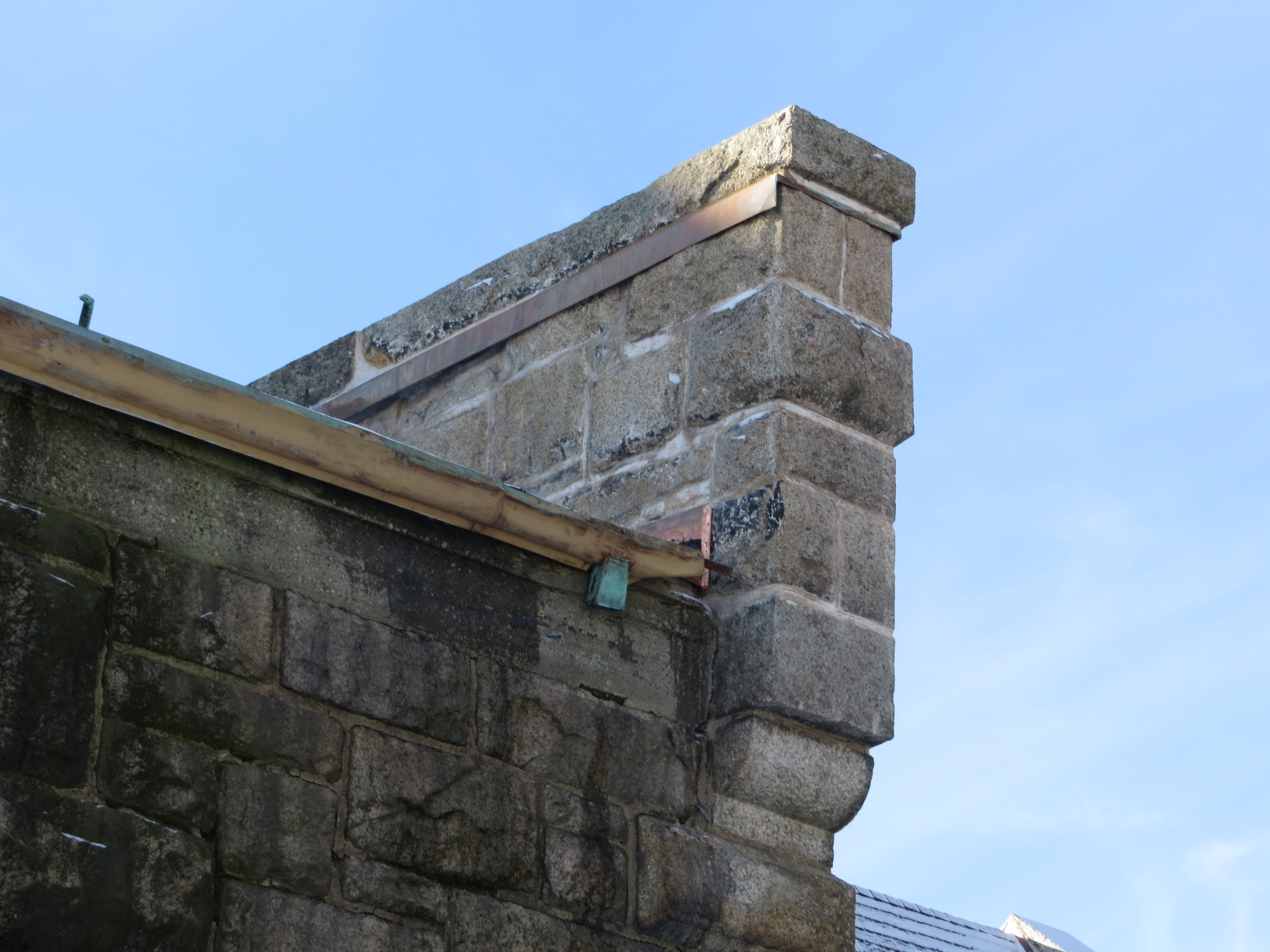 Parapet Wall After