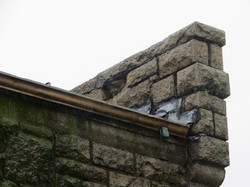 Parapet Wall Before