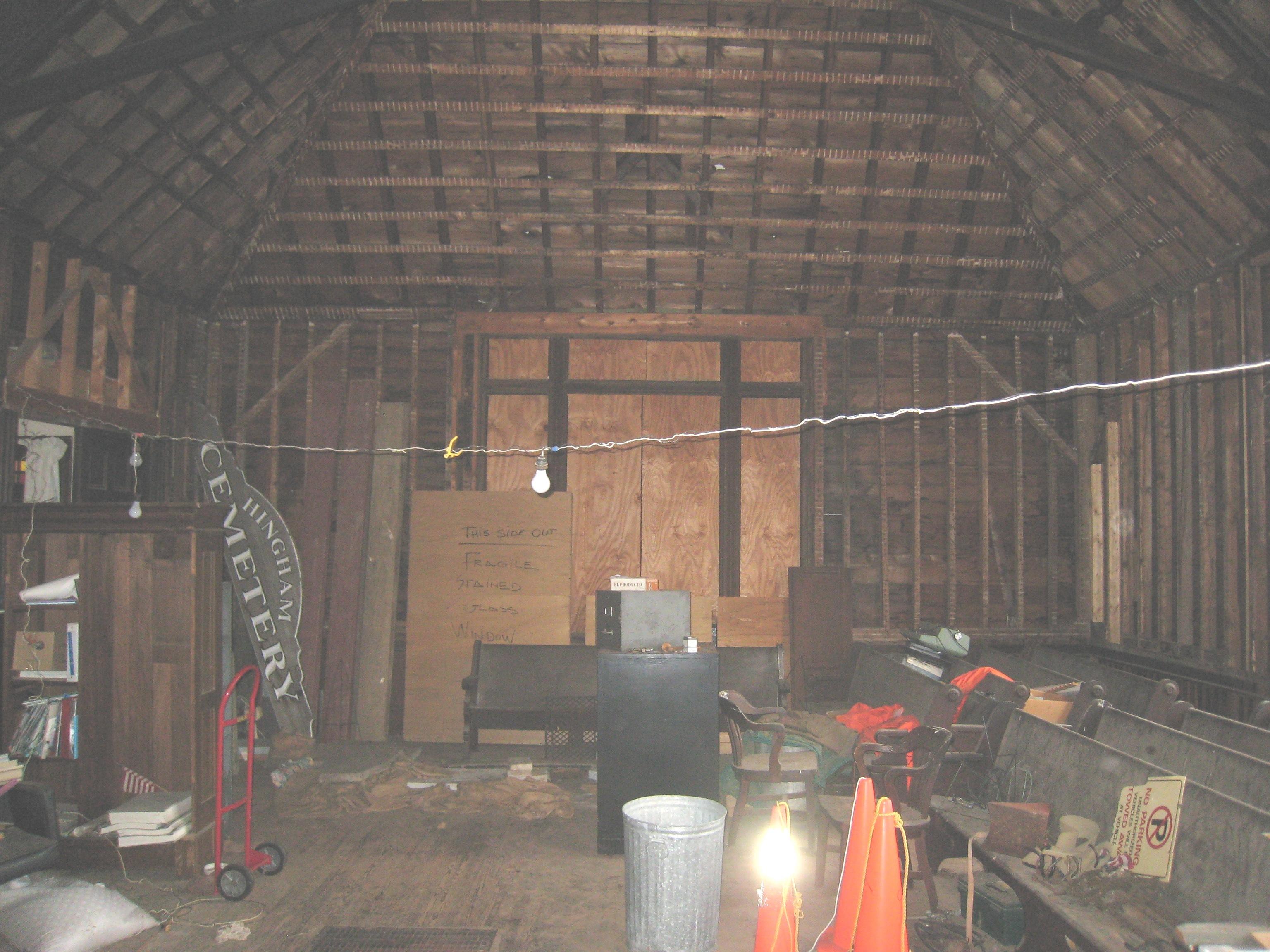 Main Hall Before