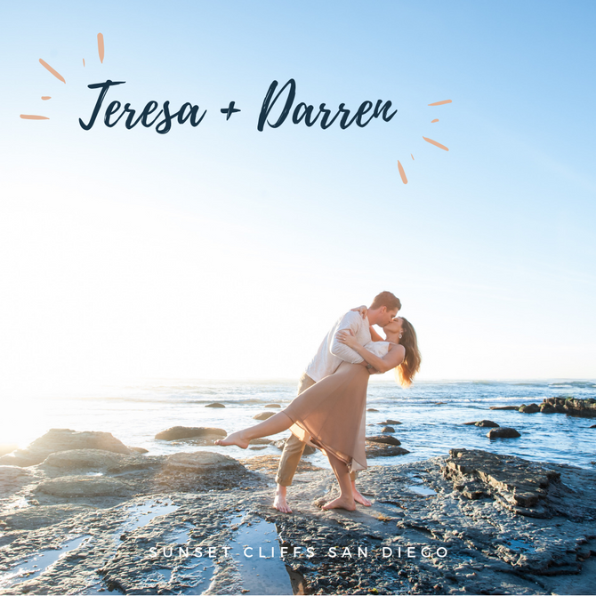 Teresa + Darren Engagements