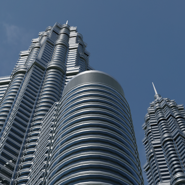 Petronas Twin Tower 3D Model