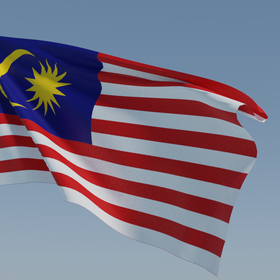 Animated Malaysian Flag (Free)