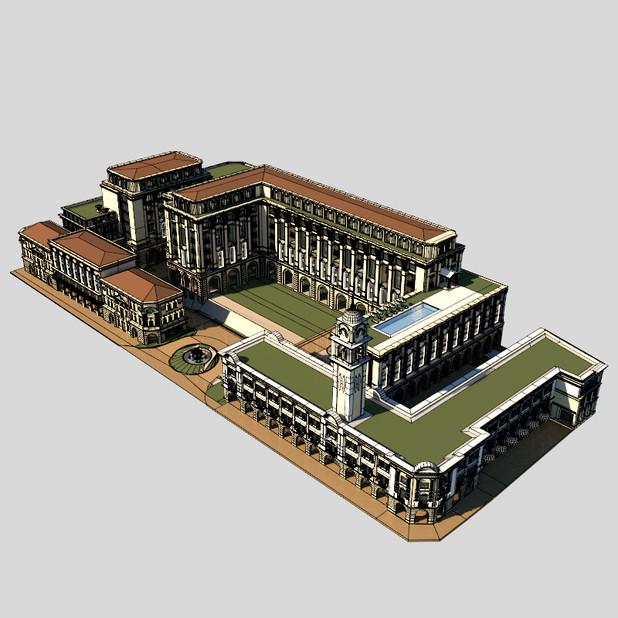 Malysian Colonial Complex