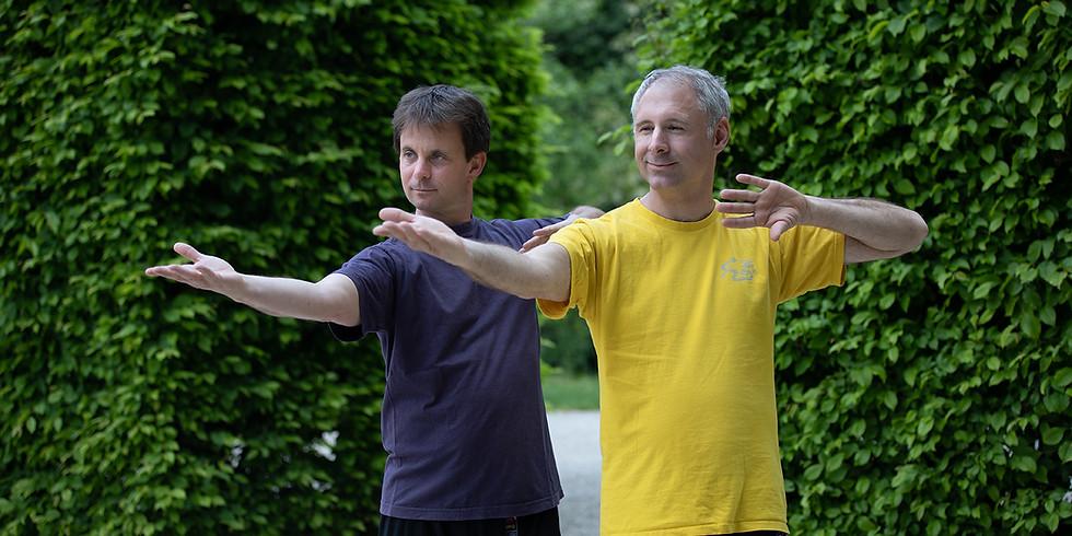 Spiralübungen des Qigong und Teeschalen - online-Kurs bis Ostern