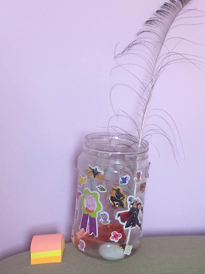 gratitude jar, gratitude, toddler gratitude jar