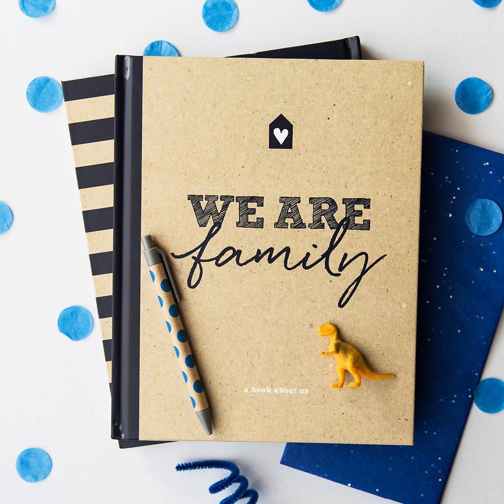 family journal, scrapbook, photo album