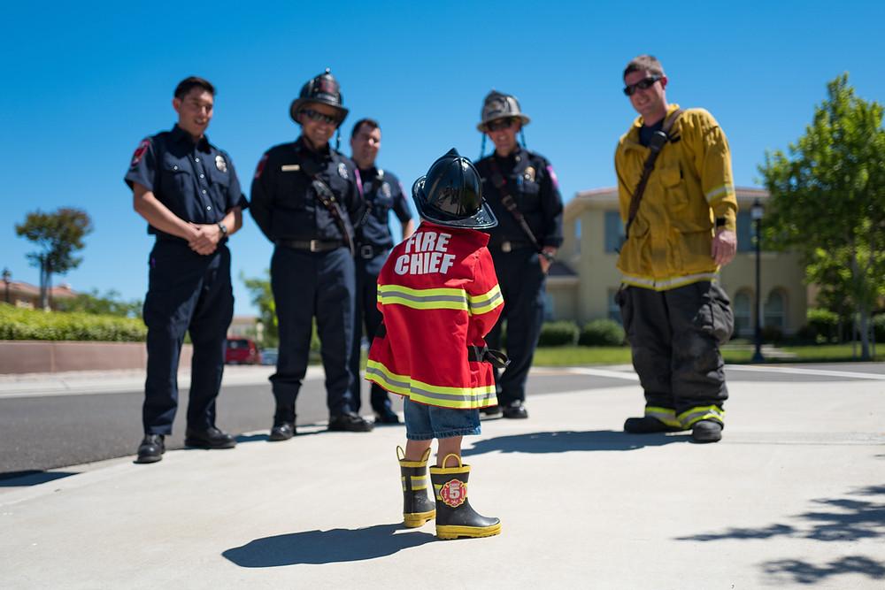 Little Fire Fighter, Heroes, Firemen
