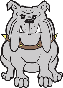 dog, bulldog, grumpy, viscious