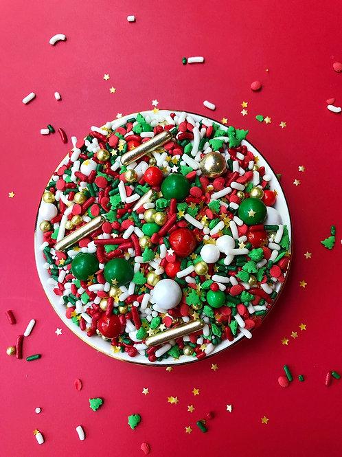 Neon-Yolk Classic Christmas Sprinkle Mix