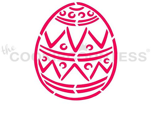 Easter Egg PYO Stencil