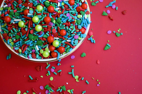 Neon Yolk Merry & Bright Sprinkle Mix