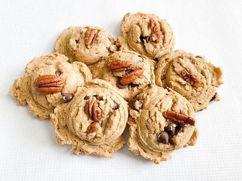 Chocolate Chip Cookies with Pecans- 1/2Dz
