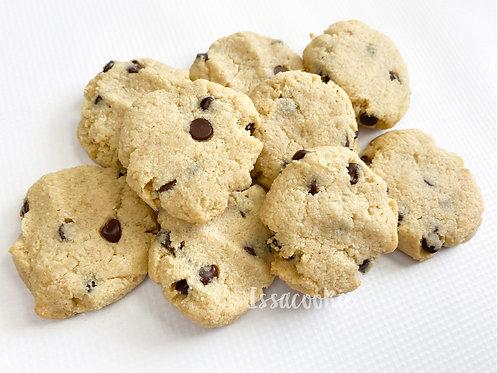 Keto Chocolate Chip Cookies- 1 DZ