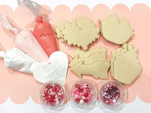 Valentine's Cookie Kit- Shipping**