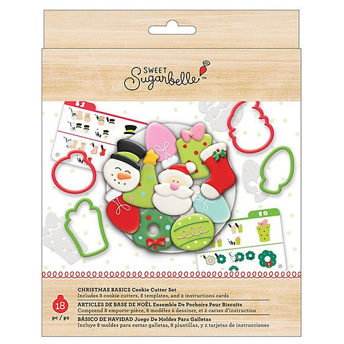 Holiday Cookie Cutter Set- 8 pieces