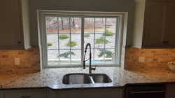 Kitchen with Marble Counter