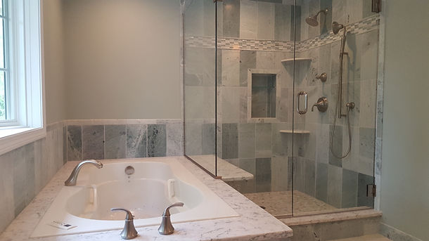 Harris Construction Inc Bathroom Remodel