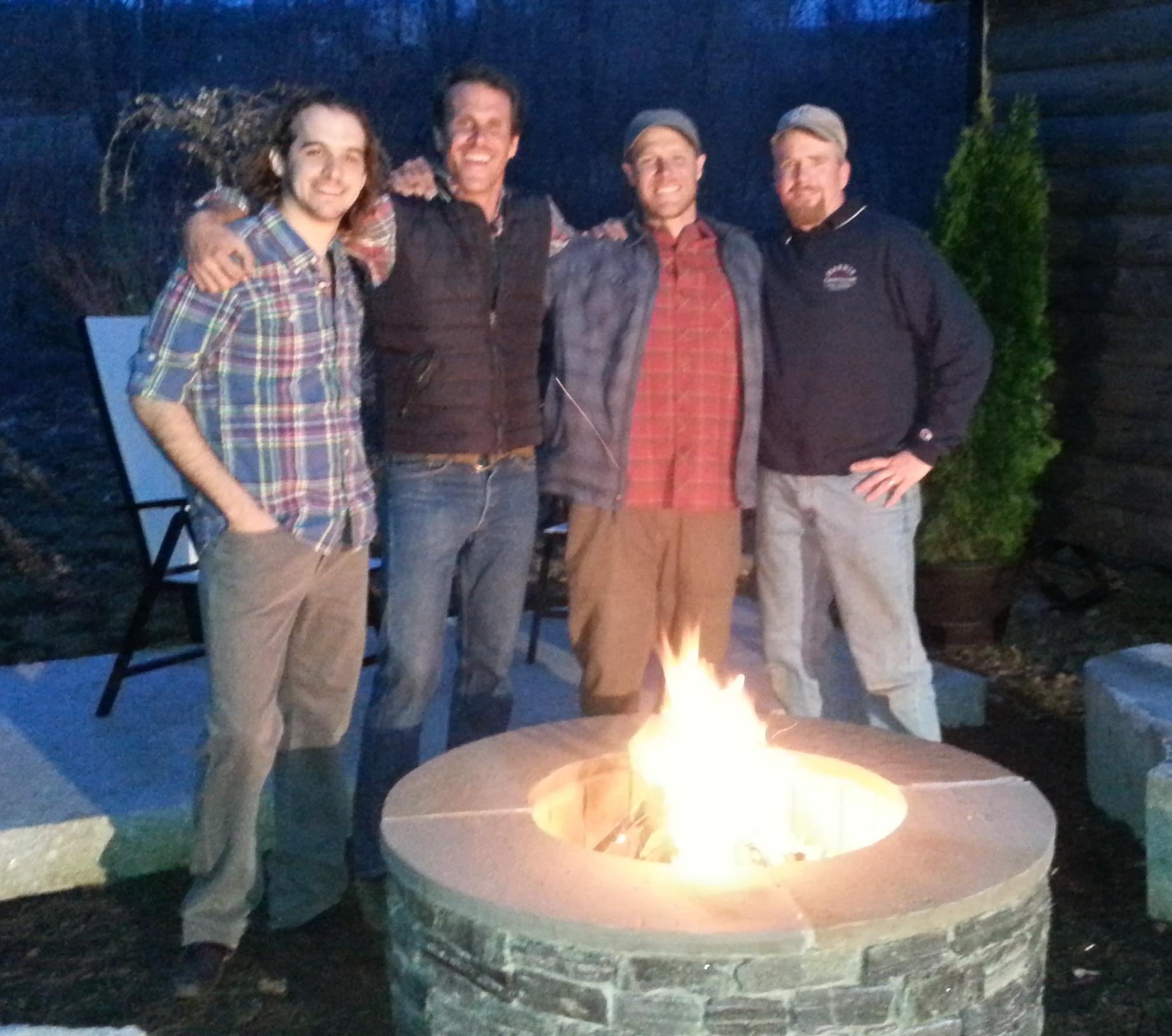 Francis, Pete, Zack & Dave Harris