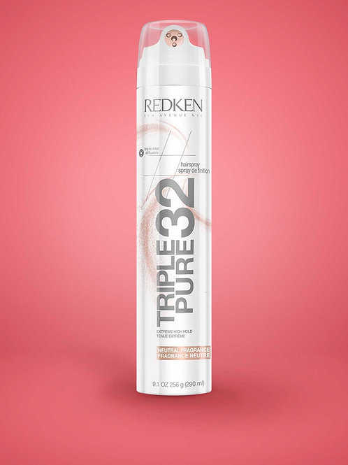 Triple Pure 32 Neutral Fragrance High Hold Hairspray