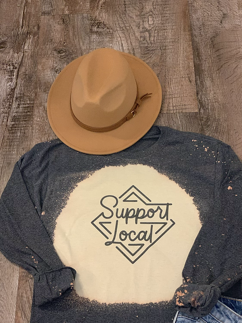Support Local Long Sleeve Shirt