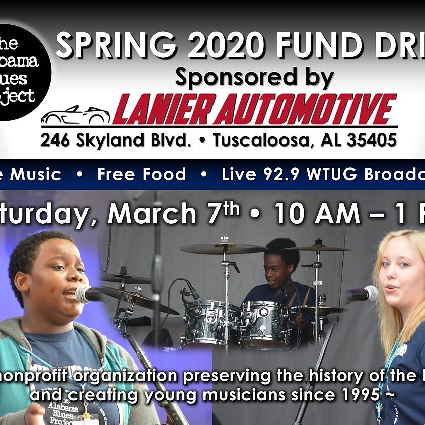 Spring 2020 Fund Drive