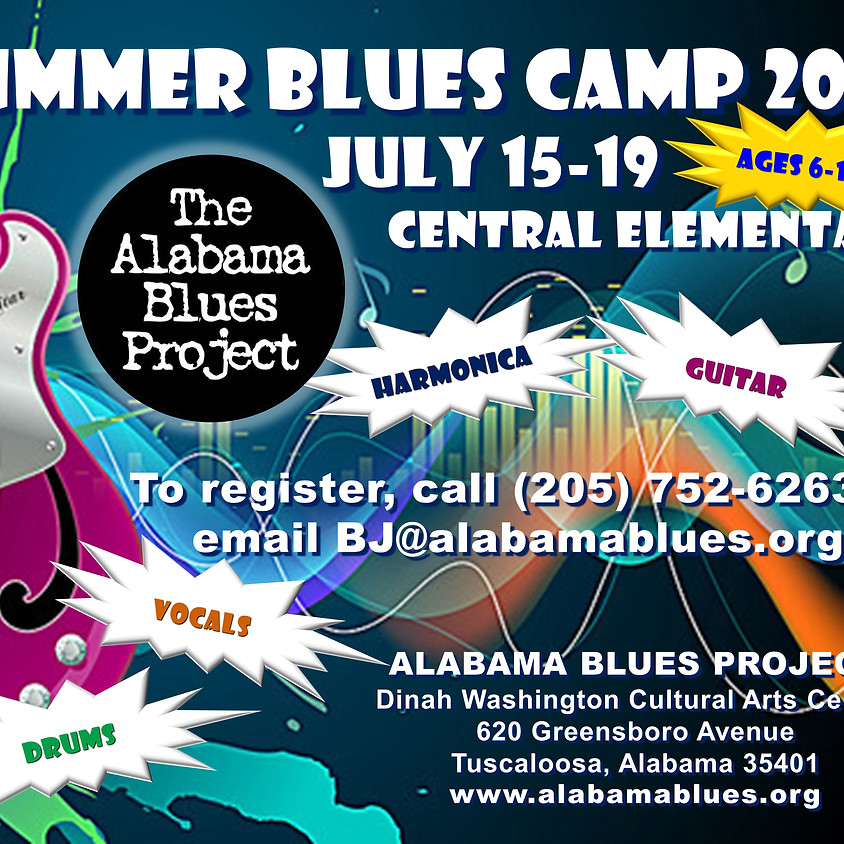 Summer Blues Camp (July 15th-19th)