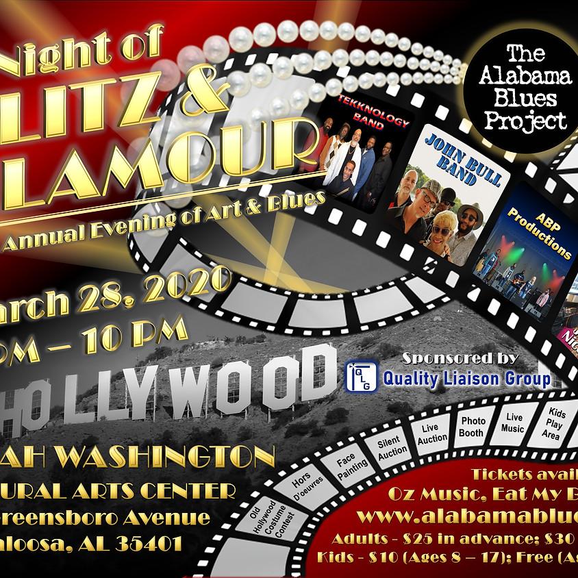 Evening of Art & Blues: A Night of Glitz & Glamour