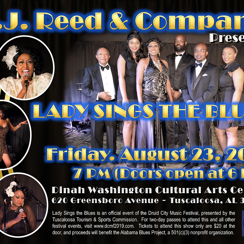 "B.J. Reed & Company Presents ""Lady Sings the Blues"""