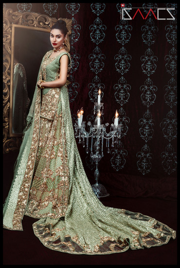 Regal pakistani wedding dresses