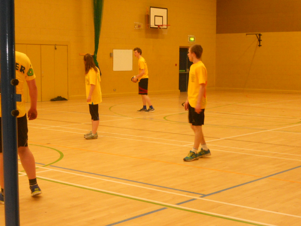 Staff Pupil Volleyball