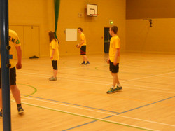 Staff Pupil Volleyball