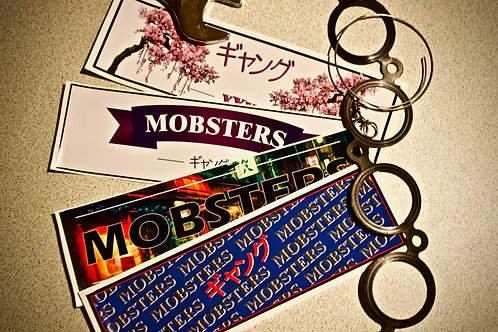 Mobsters Logo stickers
