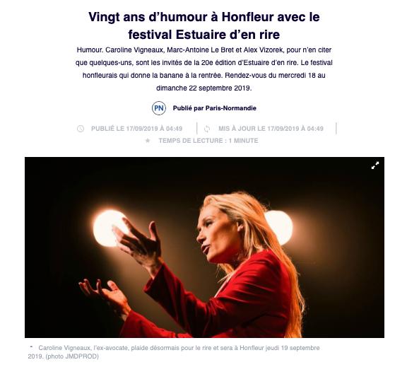 01 - Paris Normandie - 17 septembre 2019