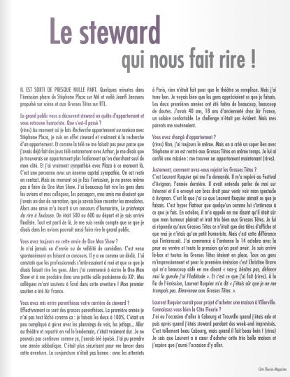 03 - Côte Fleurie Magazine - Eté 2018 -