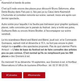 17 - Ouest-France - 13 septembre 2016 -