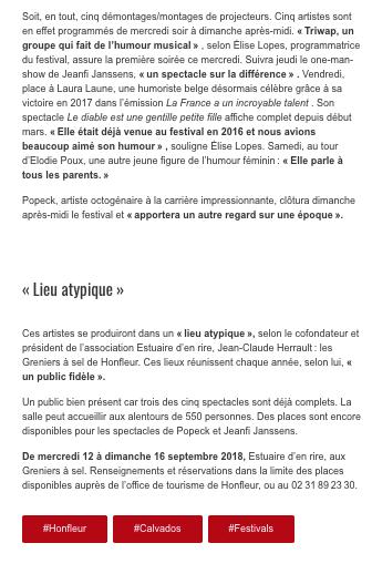 21 - Ouest-France - 11 septembre 2018 -