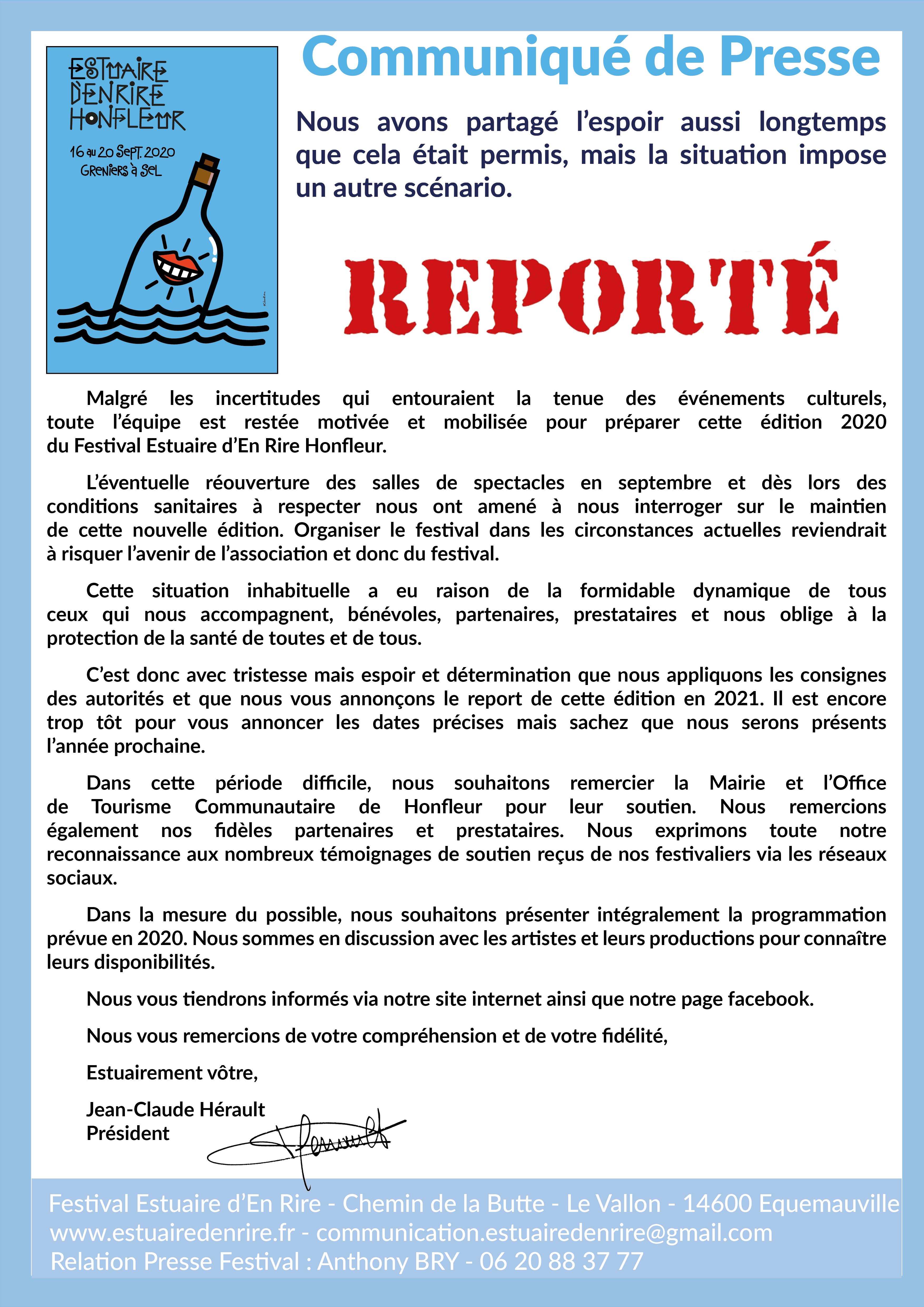 Communiqué_de_Presse_-_Report_Edition_2020