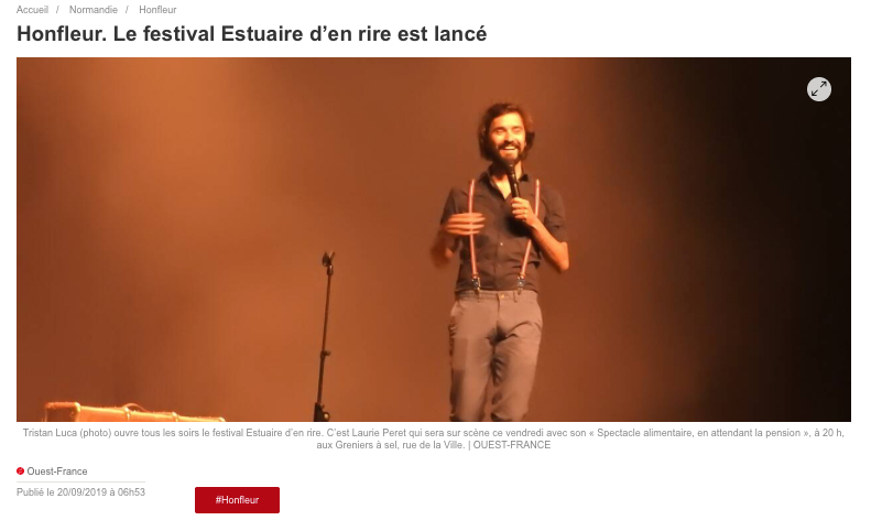 16 - Ouest-France - 20 septembre 2019 -