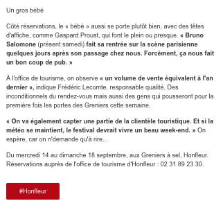 15 - Ouest-France - 13 septembre 2016 -