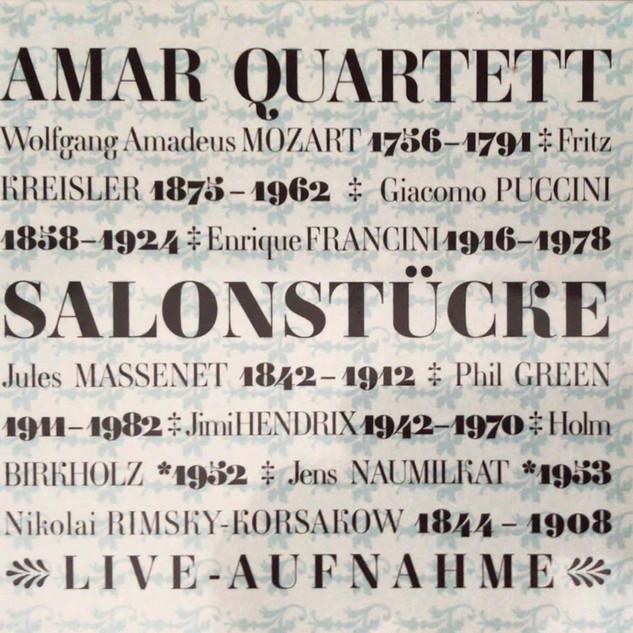 AMAR QUARTETT (2008) No.4