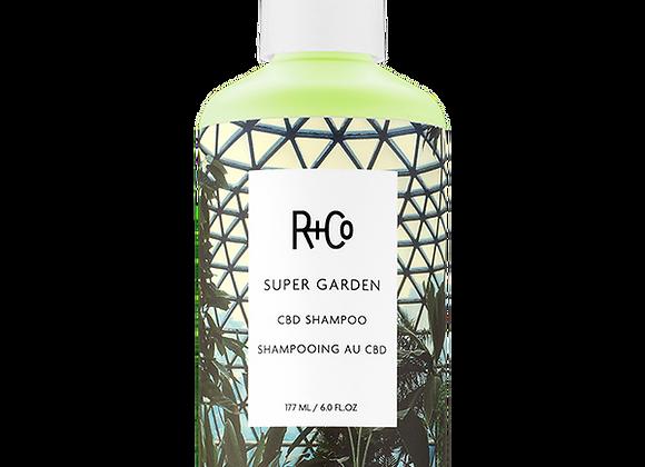 R+Co Super Garden CBD Shampoo